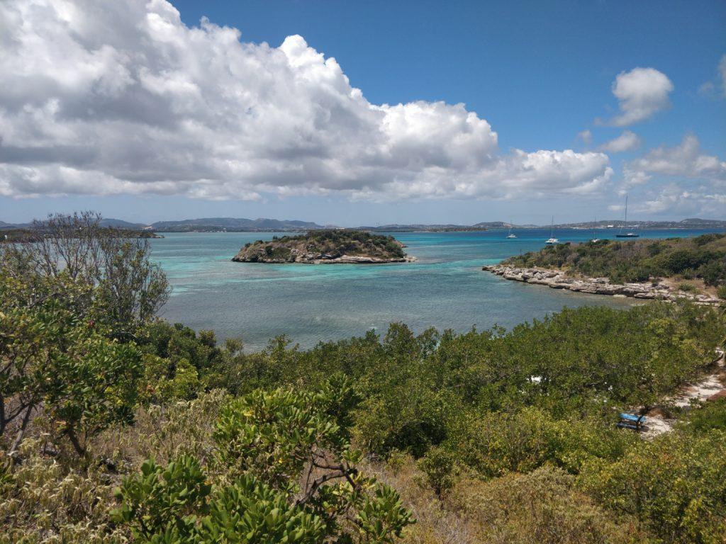 Typowy krajobraz w Antigua