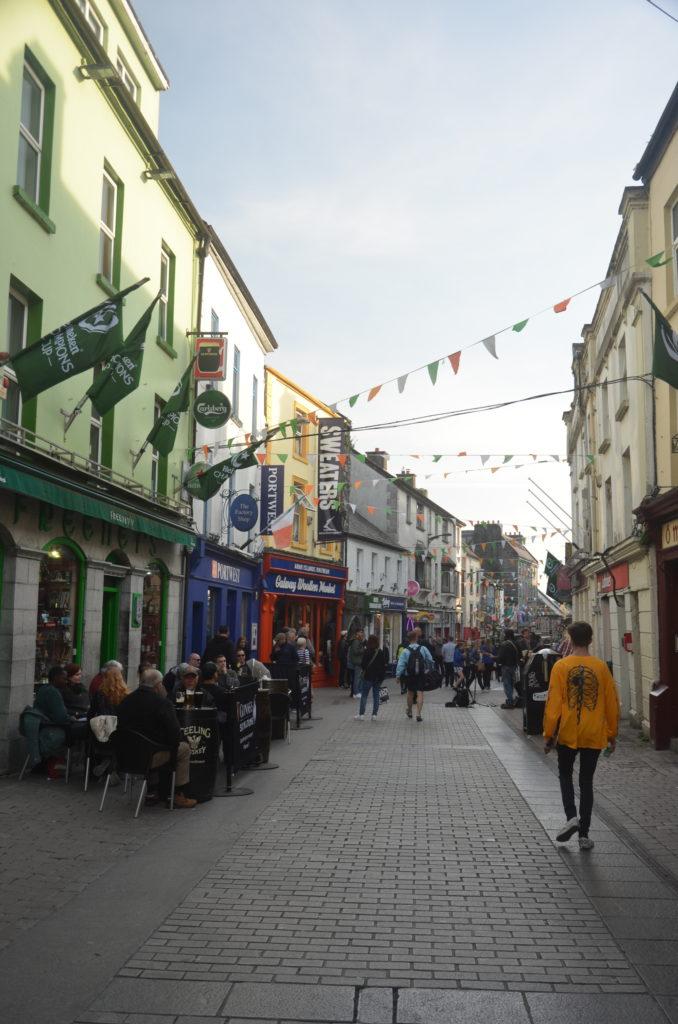 Główna ulica w Galway