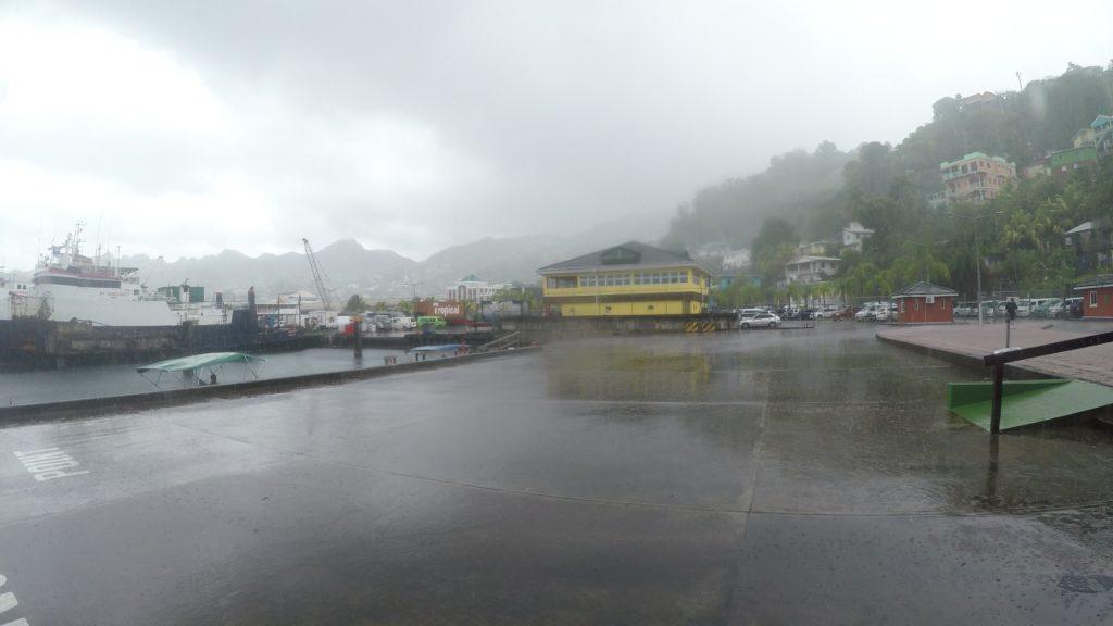 Deszczowa pogoda w St. Vincent