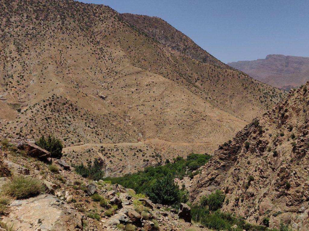 Dolina Ourika w Maroko
