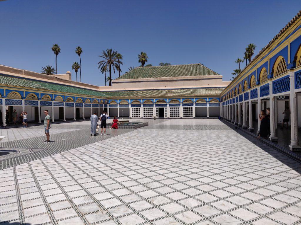 Dziedziniec w Pałacu Bahia