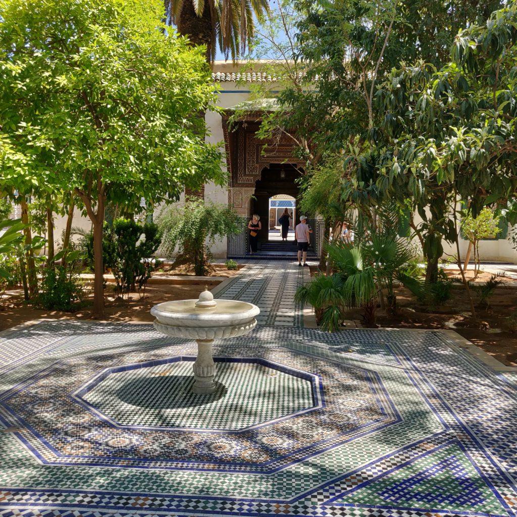 Pałac Bahia w Marakeszu