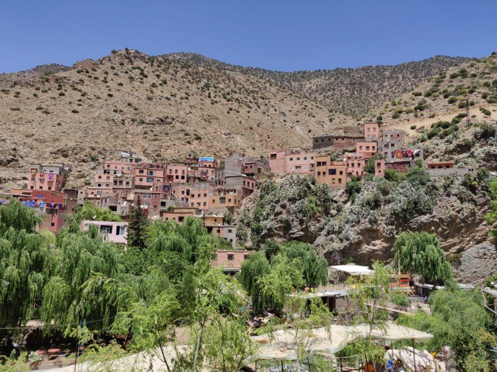 Miasto Fatma w dolinie Ourika