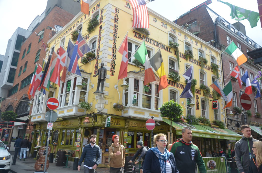 Puby w centrum Dublina