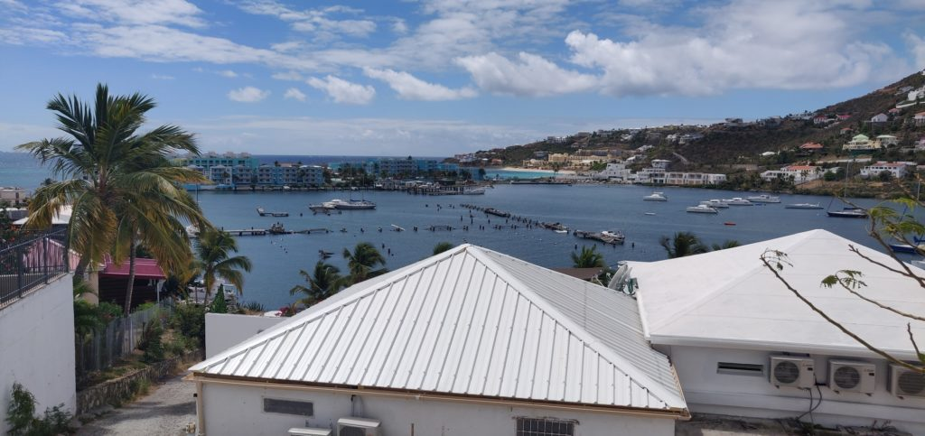 Pukt widokowy w Saint Martin