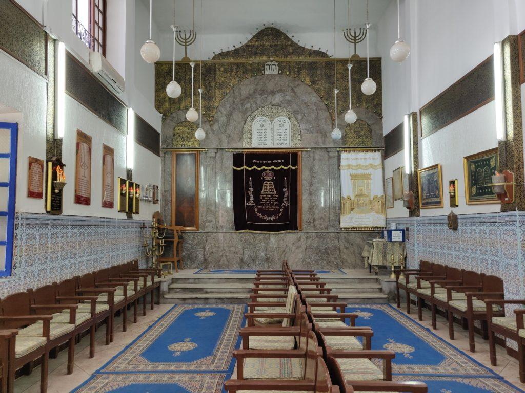 W środku Synagogi Żydowskiej