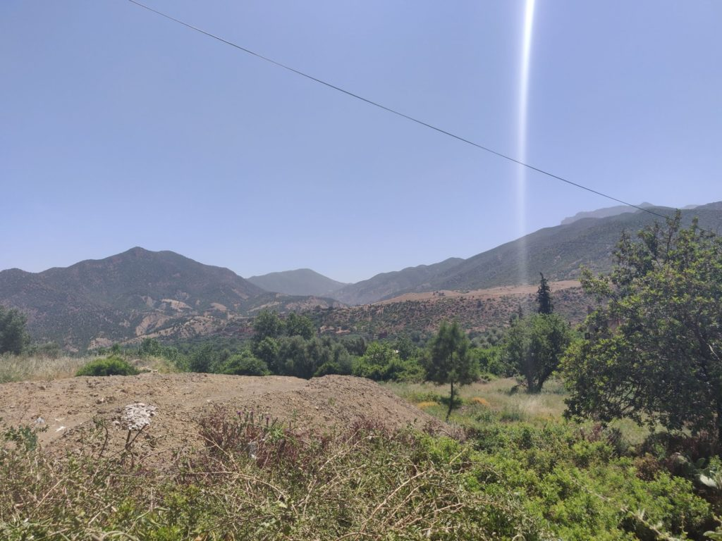 W drodze do doliny Ourika