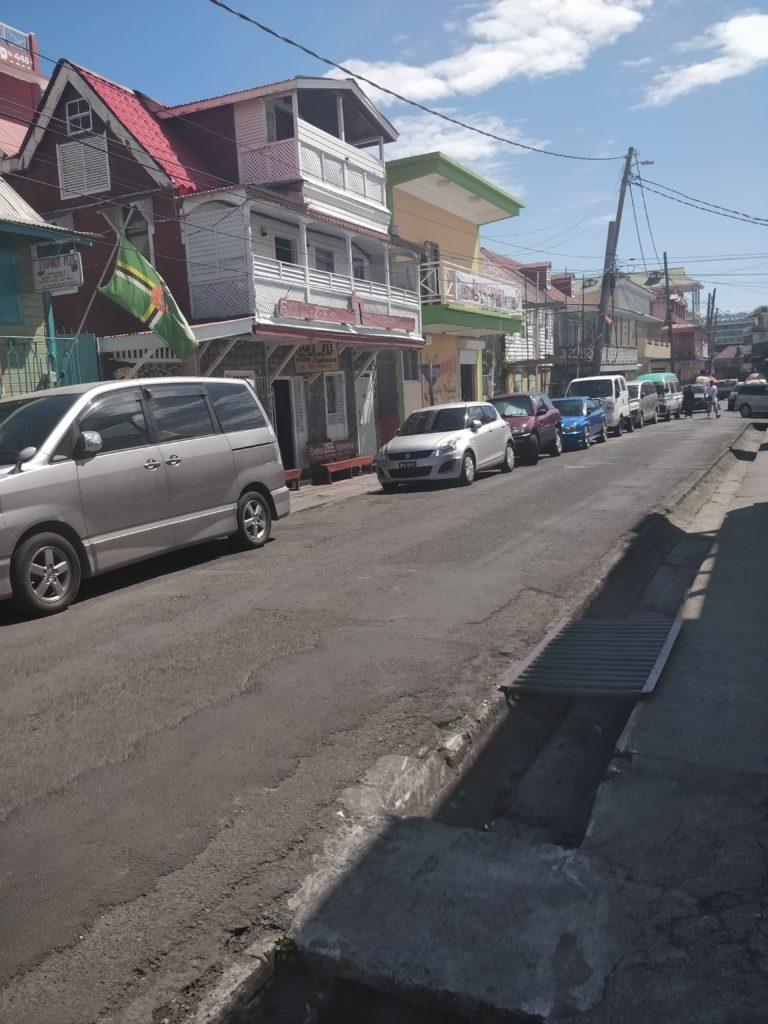 W stolicy Dominiki - Roseau