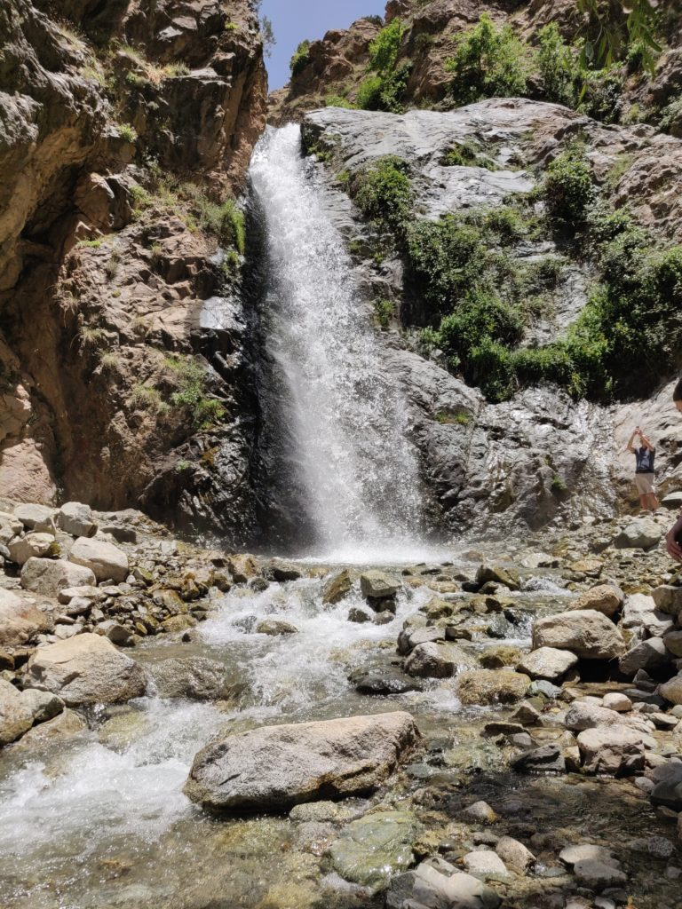 Wodospad w dolinie Ourika
