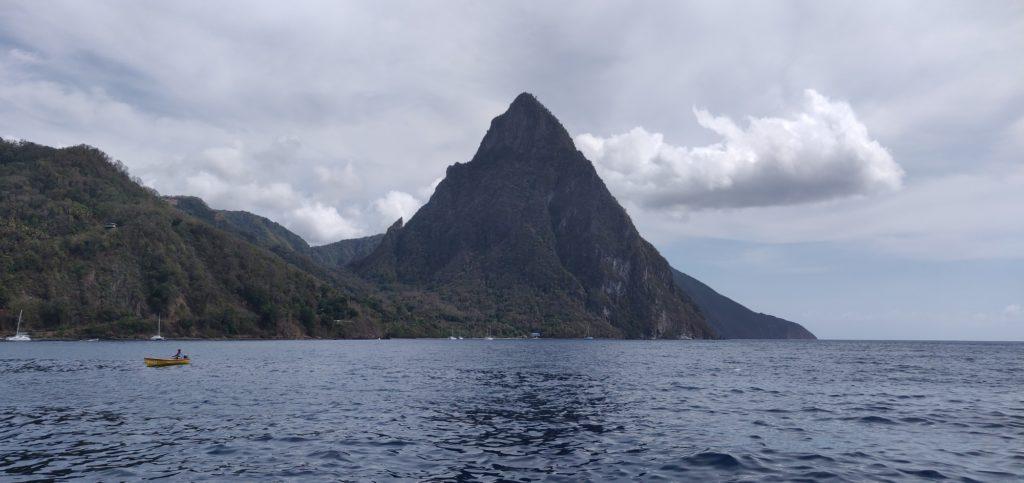 St Lucia mały Piton
