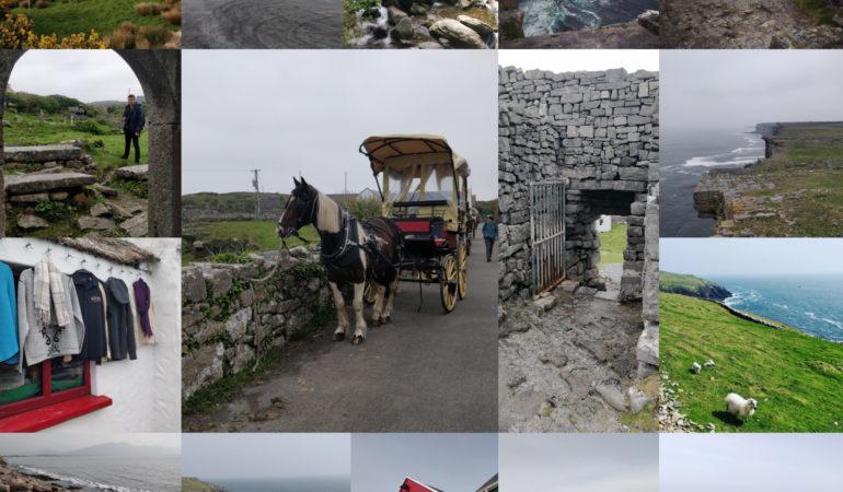 Kolaż zdjęć z Irlandii
