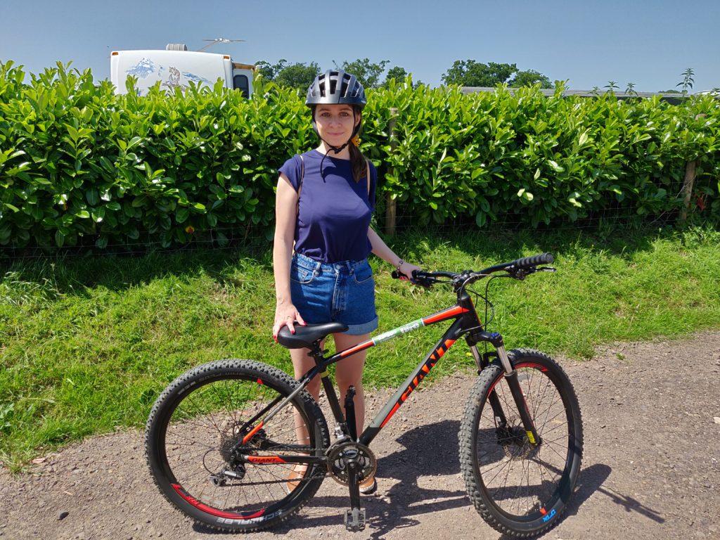 Rower wypożyczony w Brockenhurst