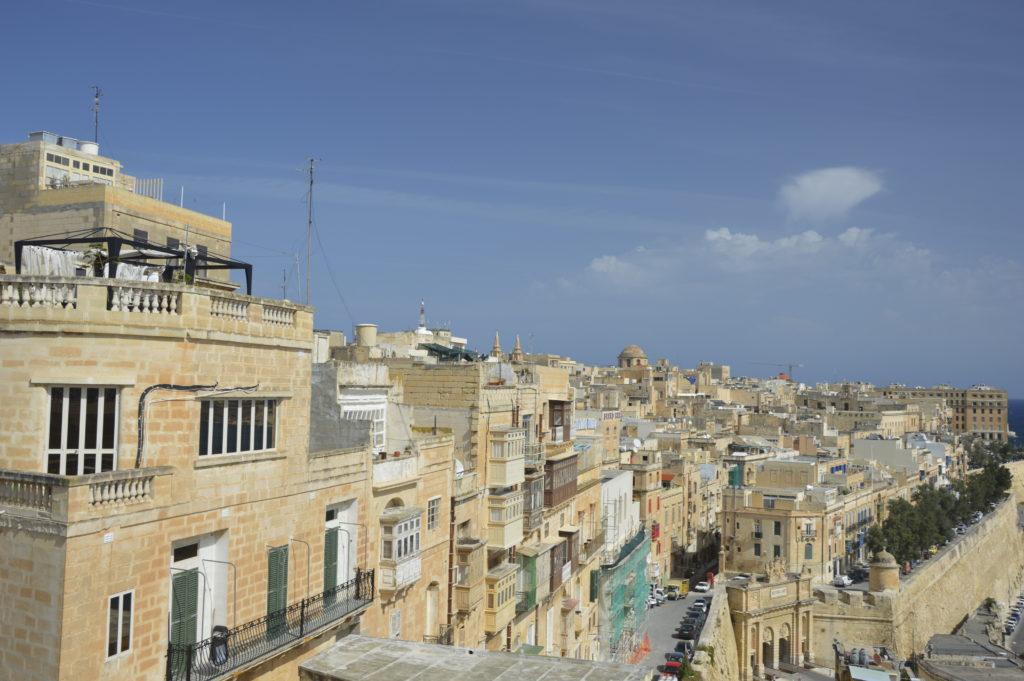 Widok na Vallette