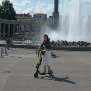 Elektryczna hulajnoga - zwiedzanie miasta na e-hulajnodze