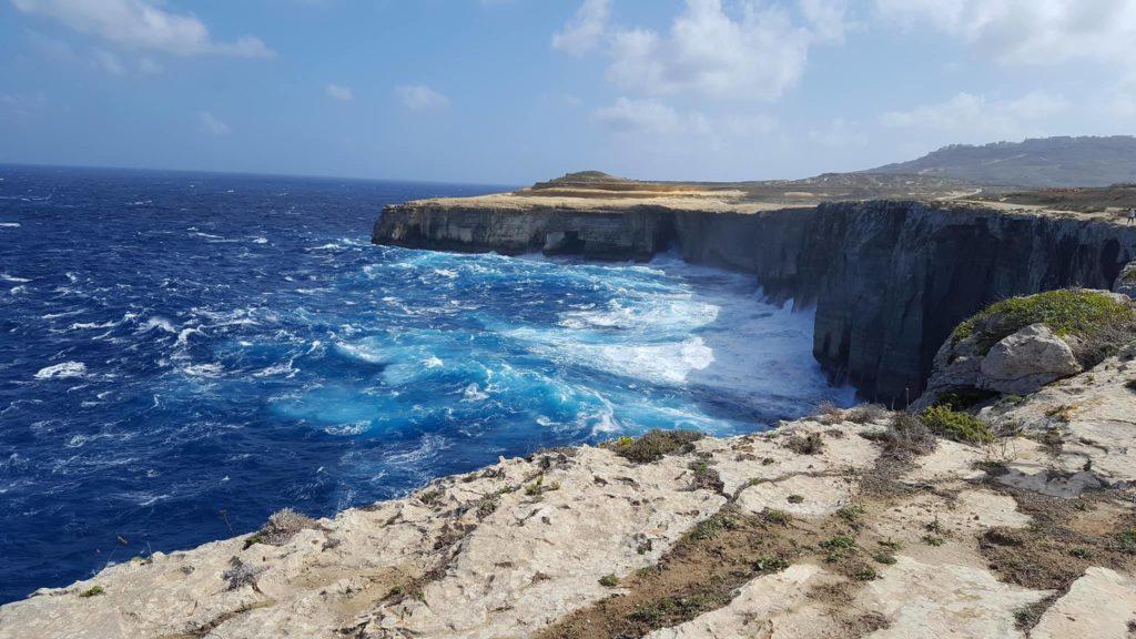 Gozo klify