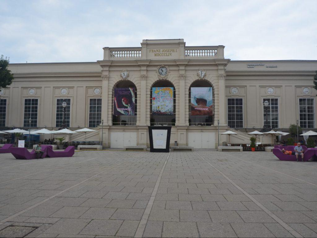 Plac w MuseumQuartier