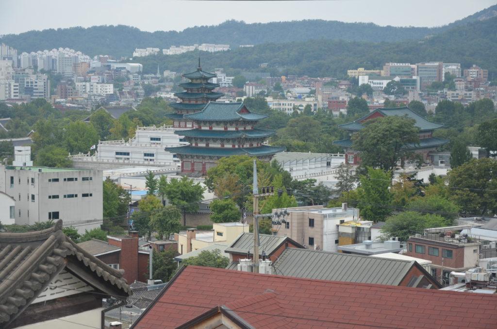 Widok na Seul