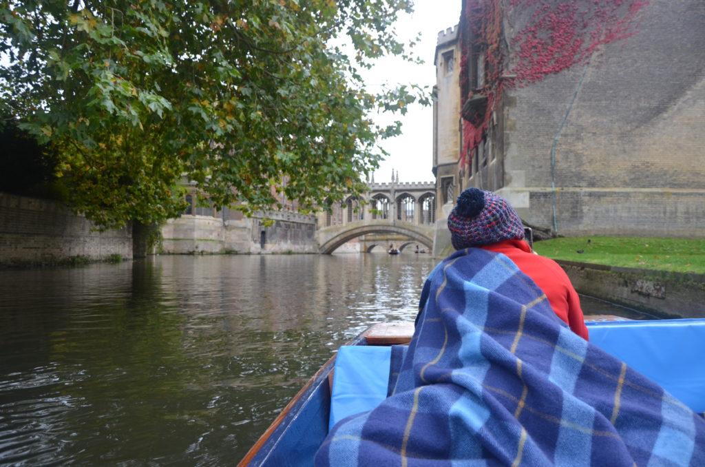 Punting Cambridge