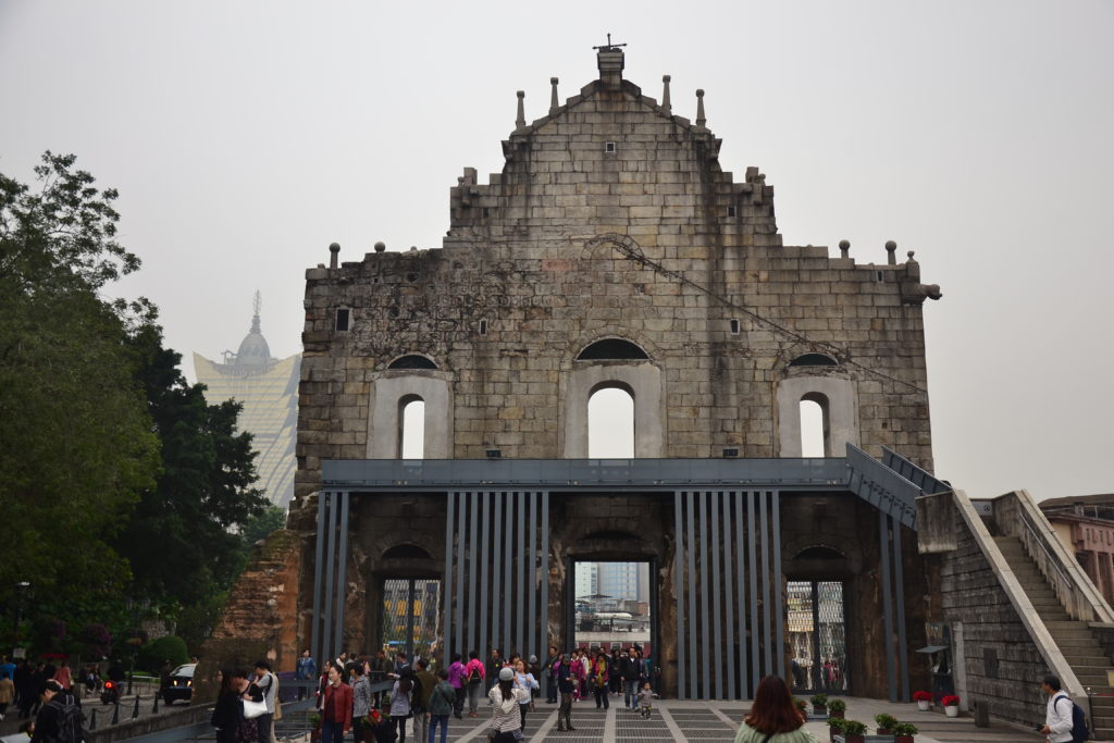 Ruiny katedry św. Pawła