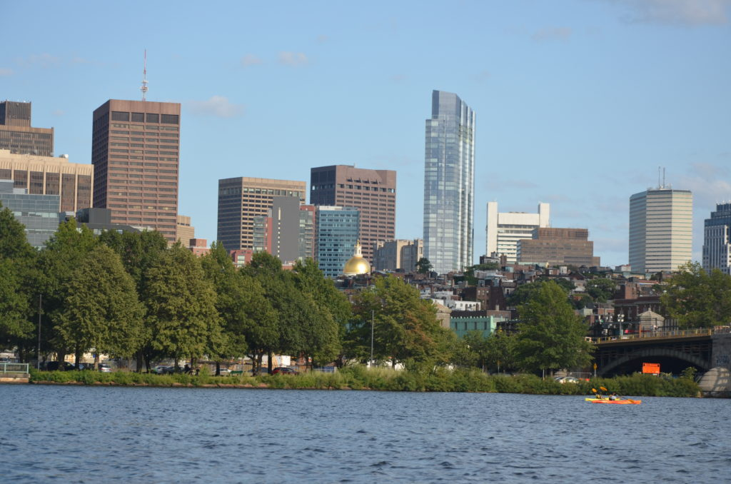 Rzeka Charles Boston