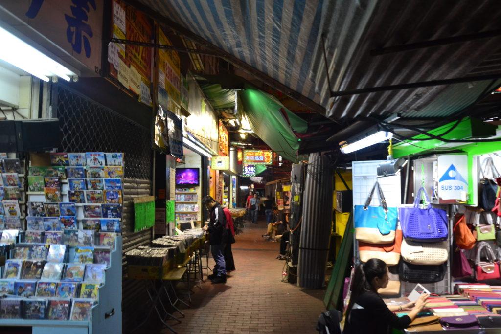 Temple Market Hongkong