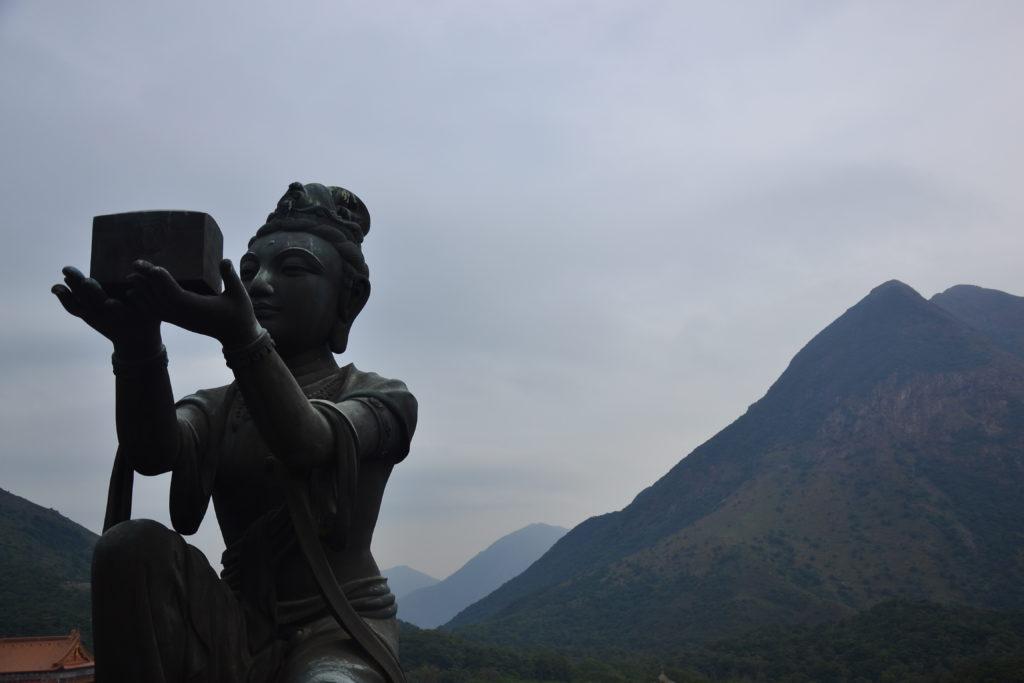 Wielki Budda Hongkong
