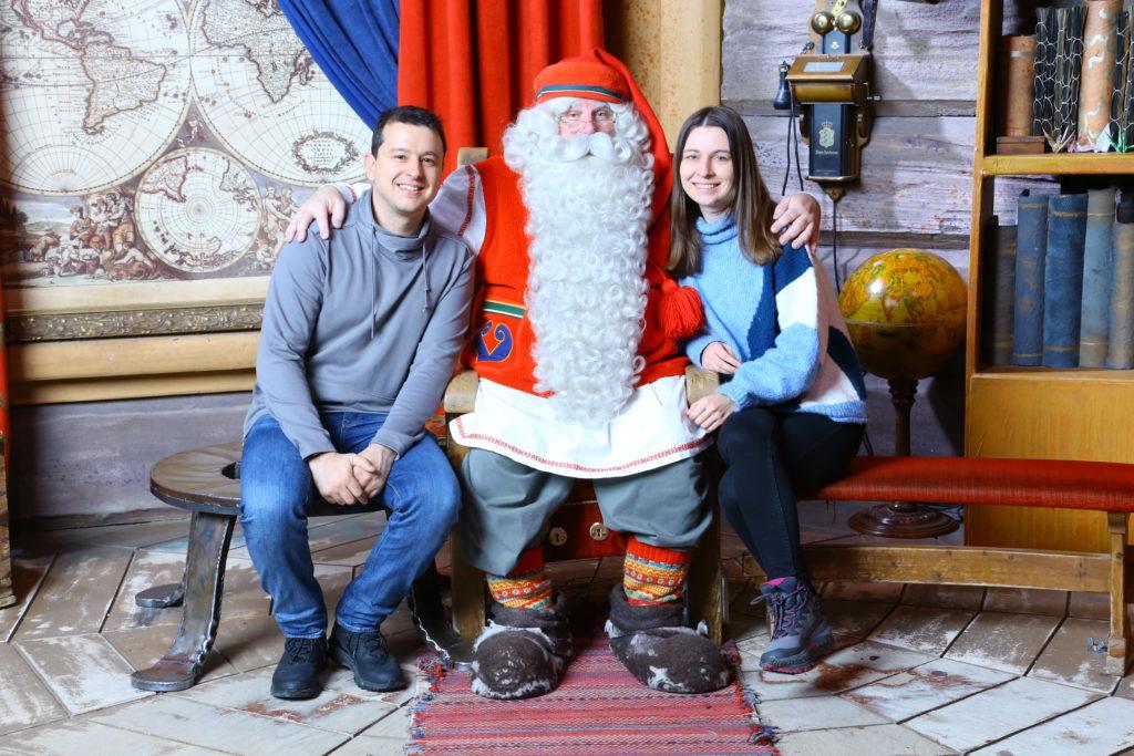 Laponia Święty Mikołaj