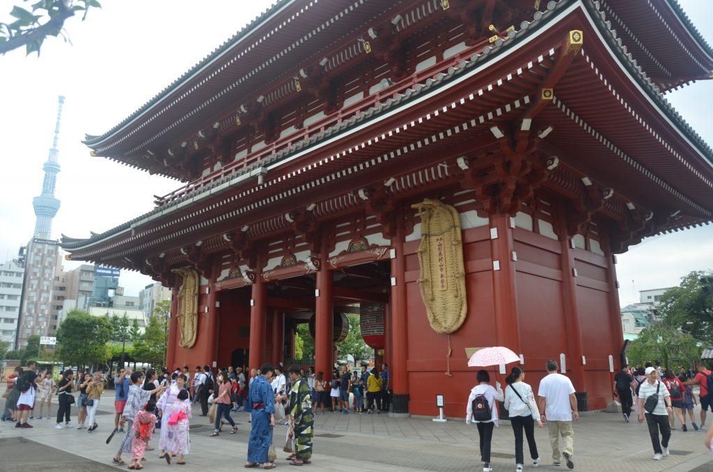 Brama w świątyni buddystycznej