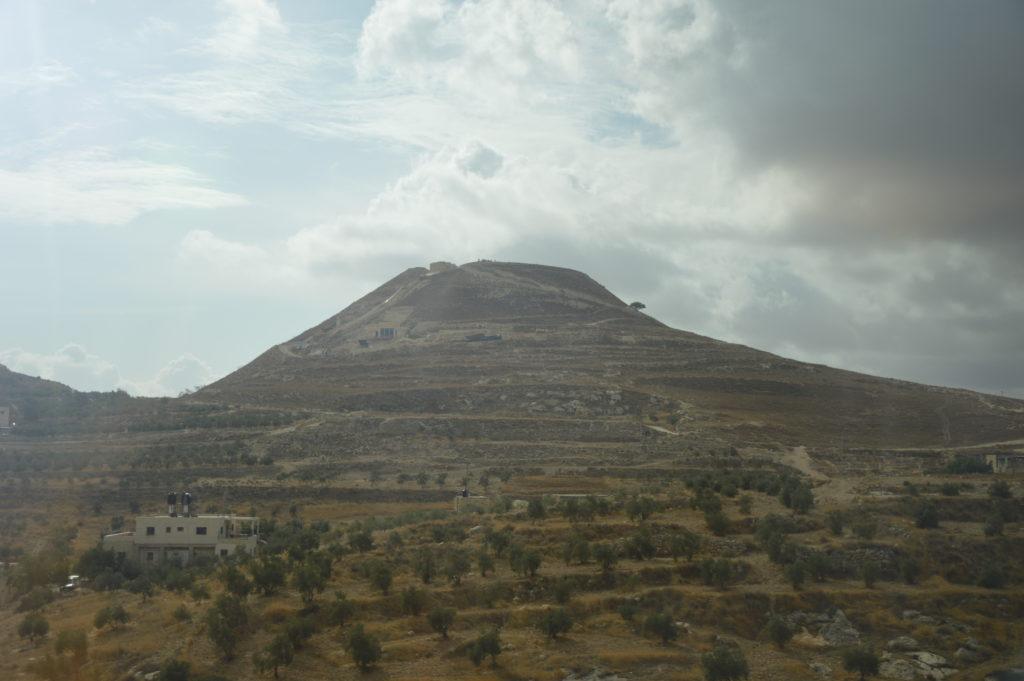 Herodium w Izraelu