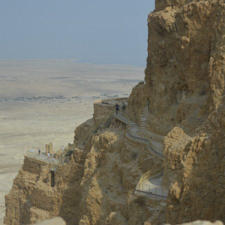 Twierdza Masada nad Morzem Martwym
