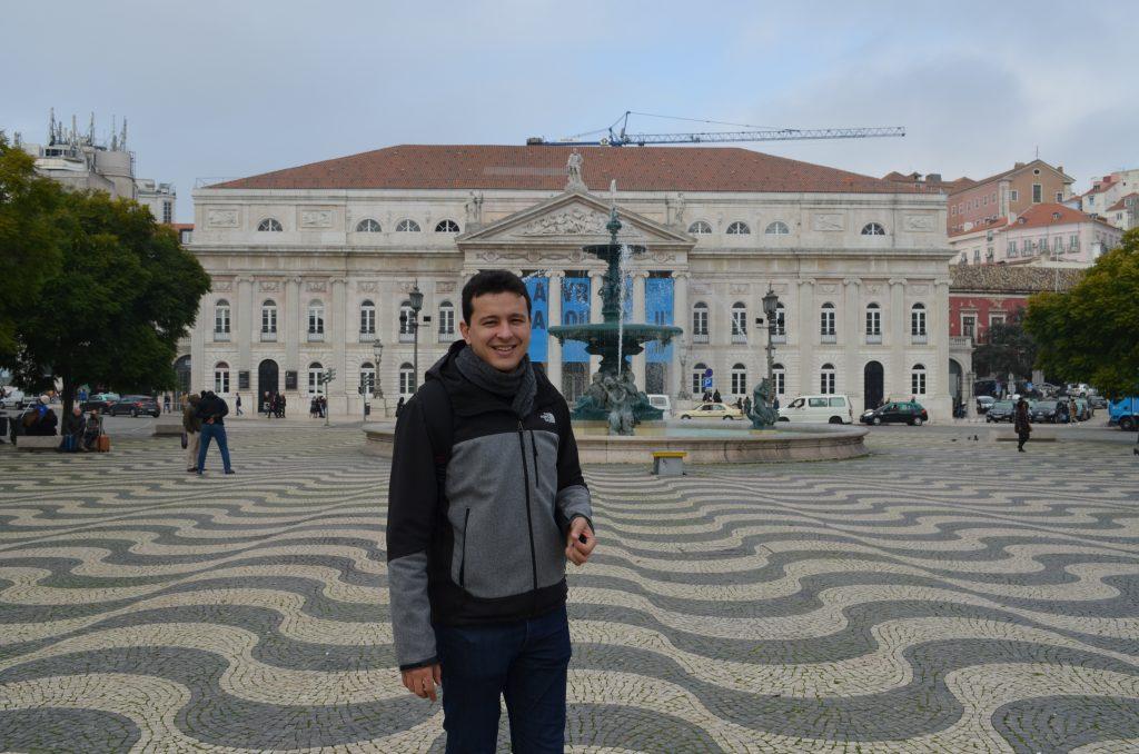 Rossio Lizbona