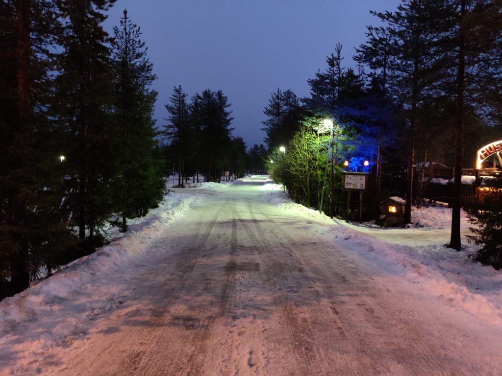 Rovaniemi zimą