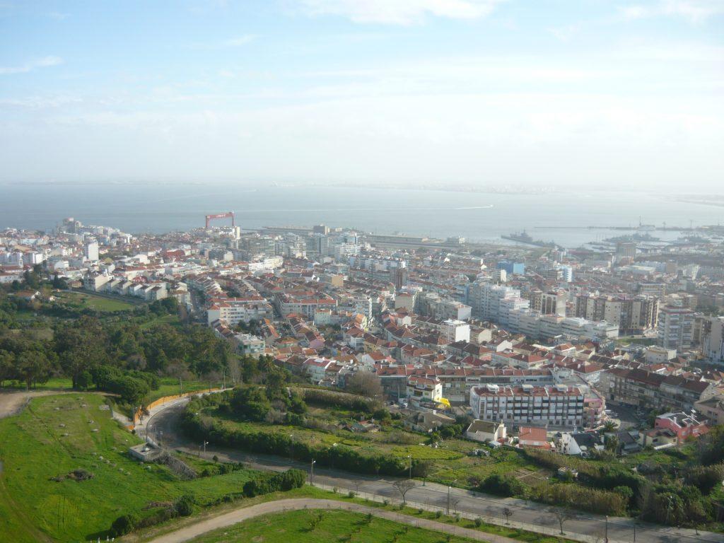Widok na Lizbone