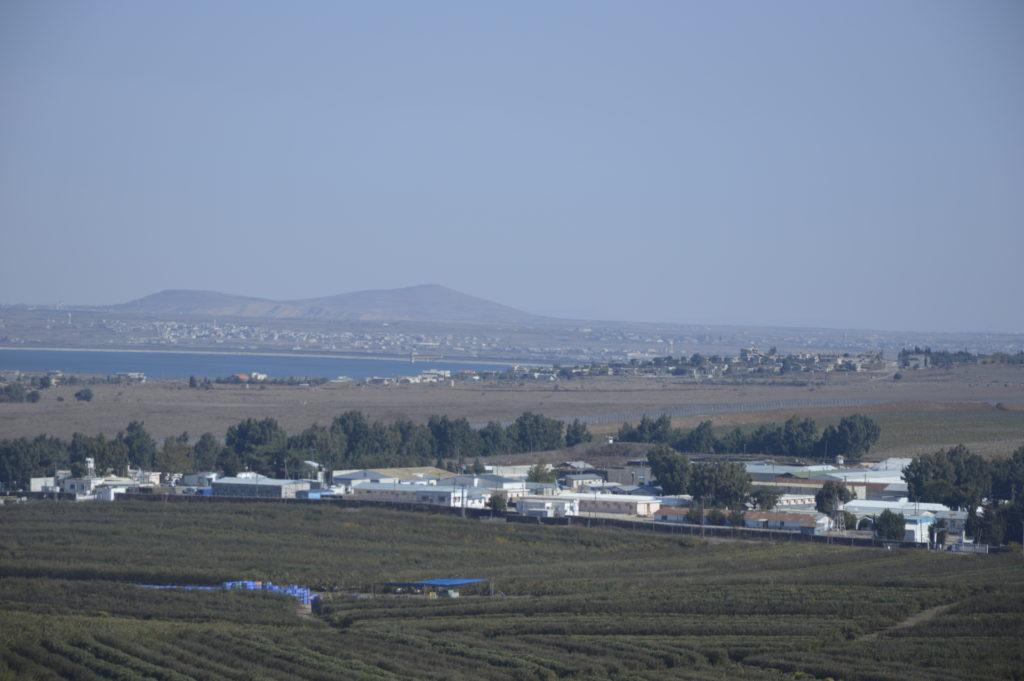 Wzgórza Golan Izrael.