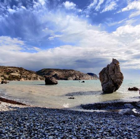 Petra tou Romiou - Skała Afrodyty na Cyprze