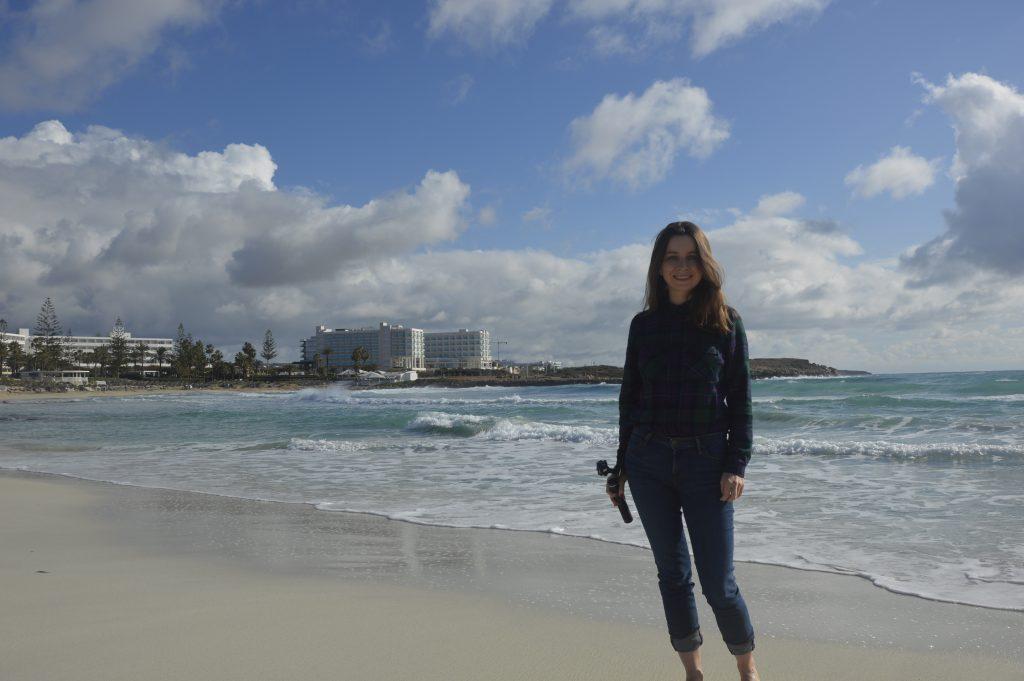 Plaża Nissi Cypr