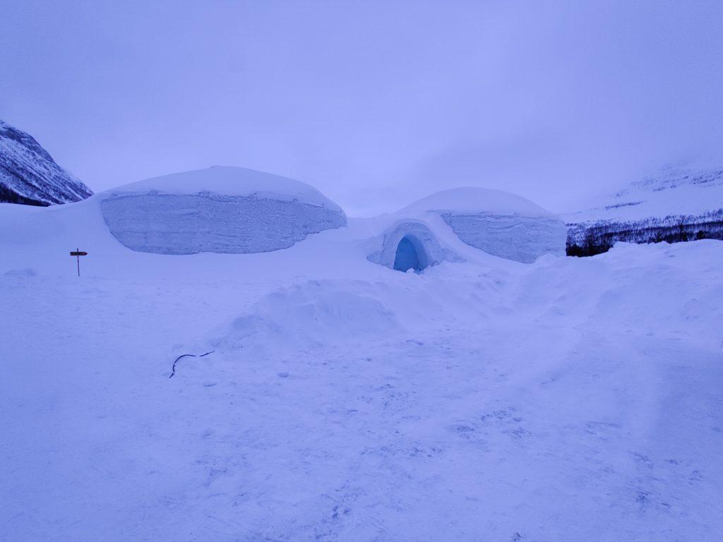 Hotel lodowy Tromso