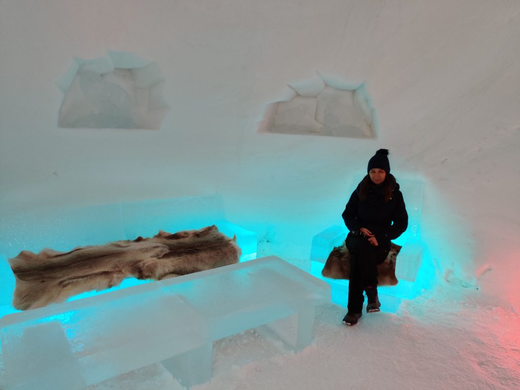 Salon hotel lodowy