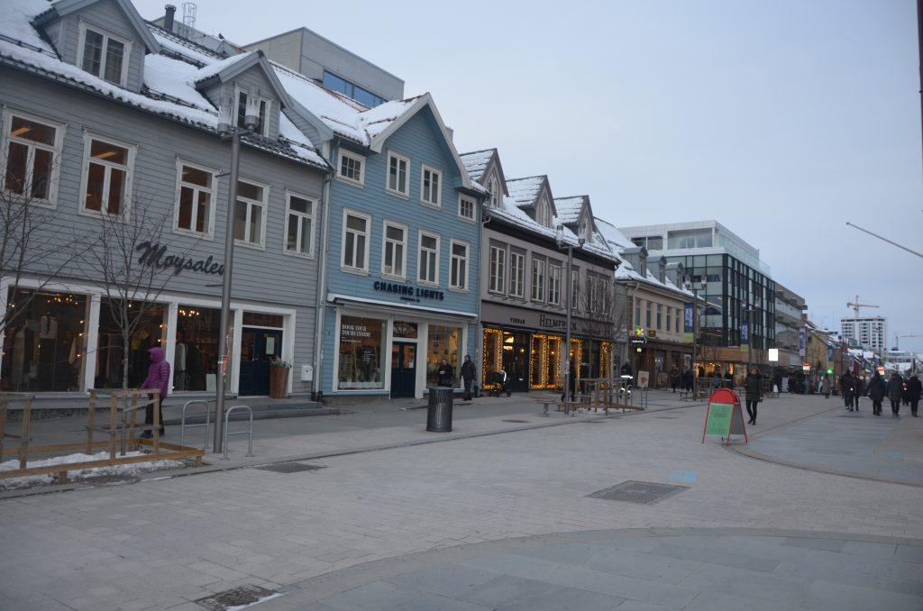 Ulica Storgata Tromso
