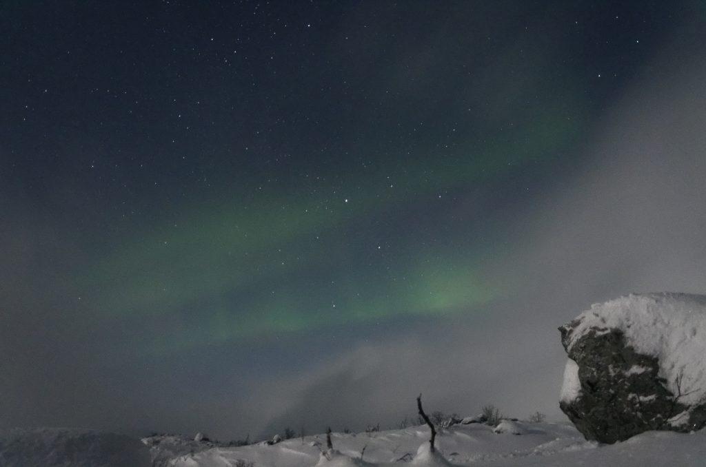 Zorza polarna Tromso