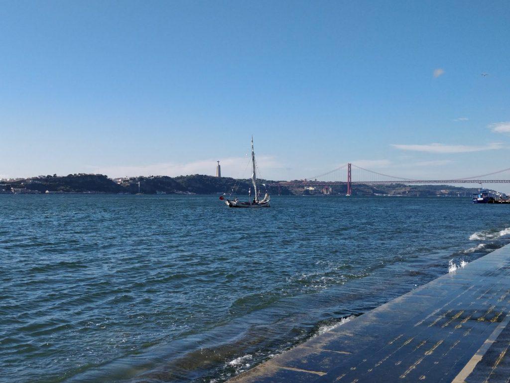 Lizbona rzeka Tag