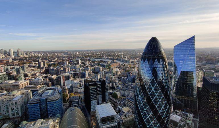 Londyn panorama