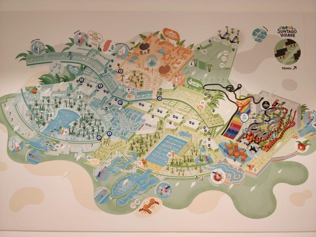 Suntago mapa