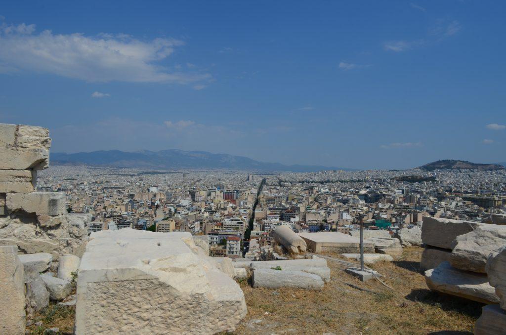 Widok z Akroplu