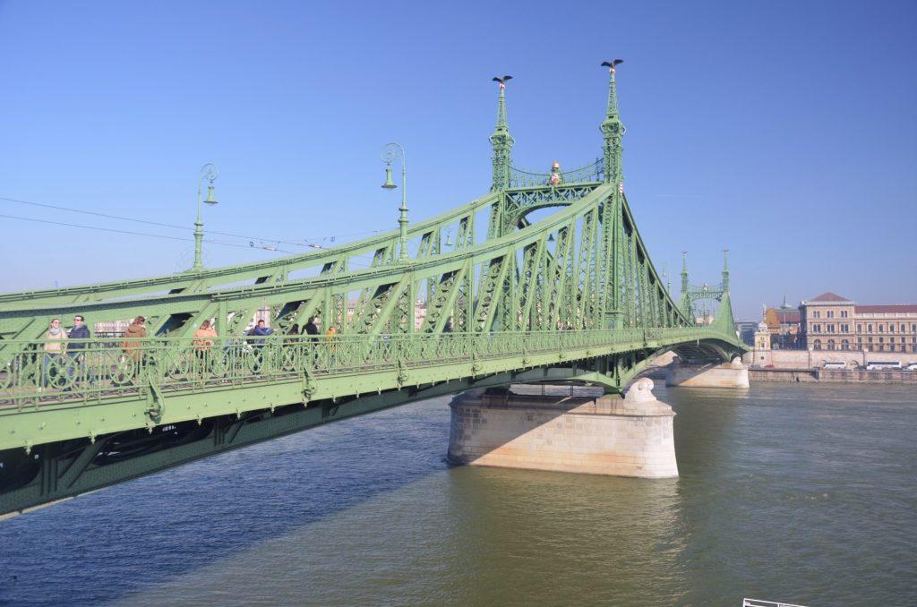 Most Wolności Budapeszt