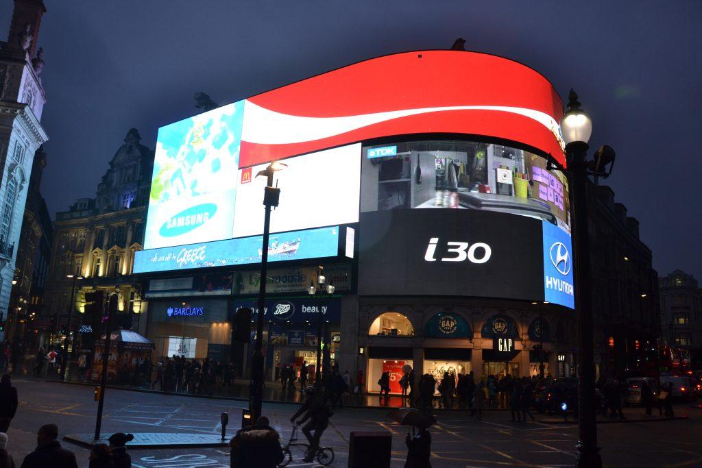 Picadilly Centr Londyn