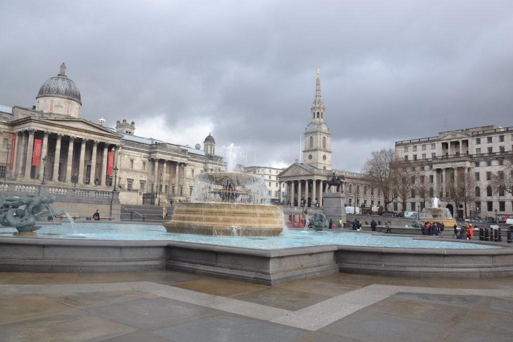 Trafalgar Square Londyn