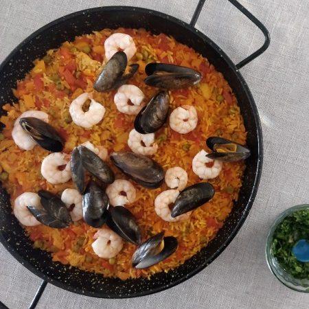 Domowa hiszpańska paella