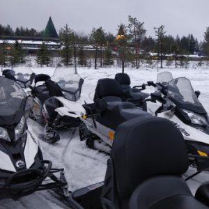Skuter śnieżny - mój pierwszy raz na snowmobile!