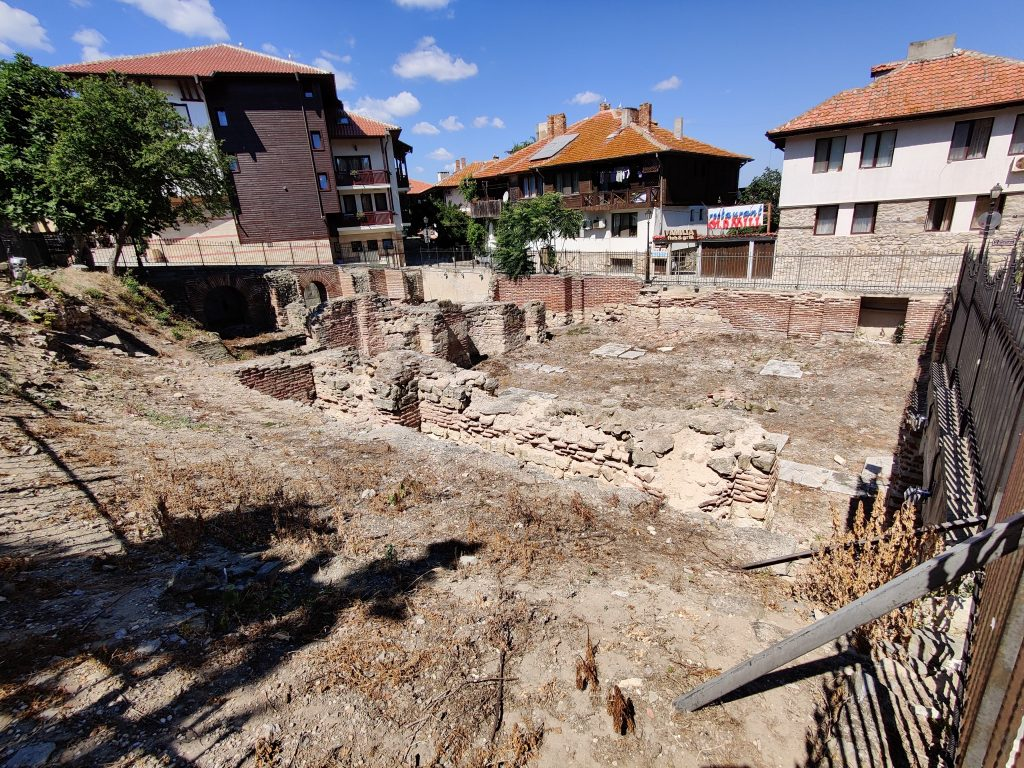 Łaźnie bizantyjskie Nessebar